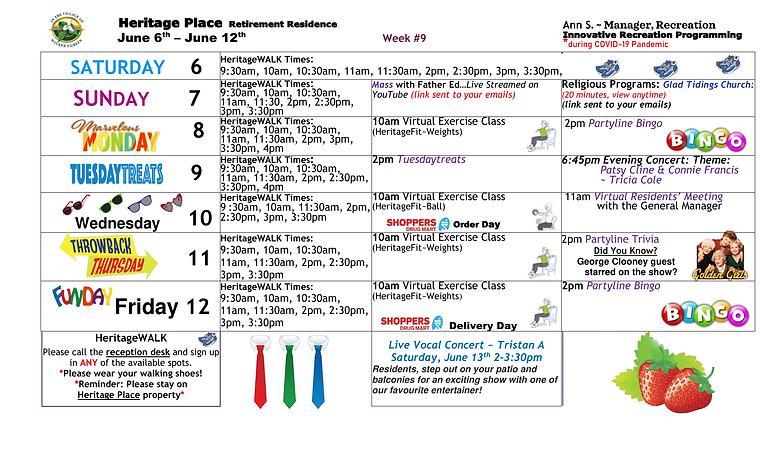 WK 9 - Innovative Recreation Programming