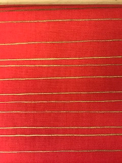 Red and Gold Stripe SALE