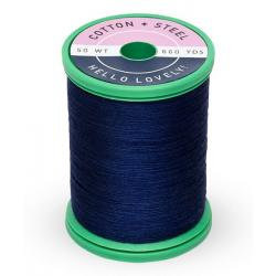 Cotton and Steel Thread 0505 Deep Artic Sky