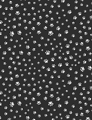 Sketched Paw Prints
