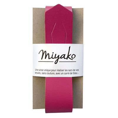 Miyako Handle Raspberry