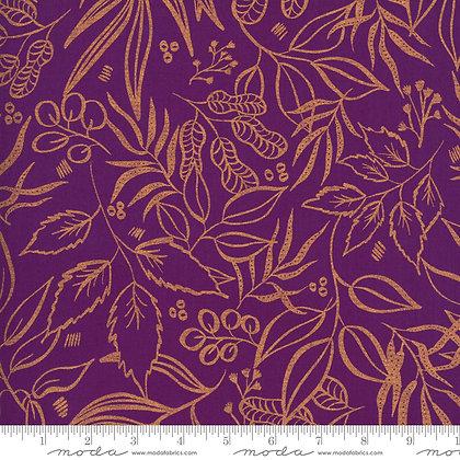 Sunshine Soul Ultra Violet and Metallic Leaves