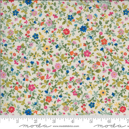 Lulu Packed Floral Linen