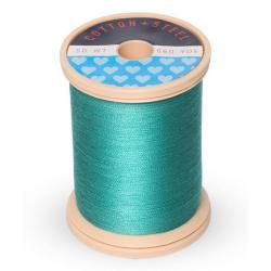 Cotton and Steel Thread 0640 Medium Aqua