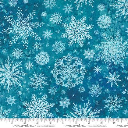 Starflower Christmas Snowflake Teal