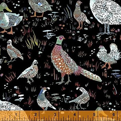 Foxwood Bird Season Black