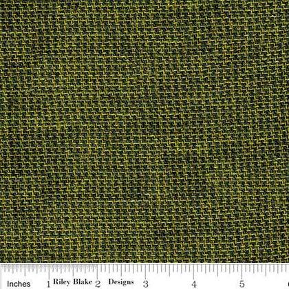Wool Check Green