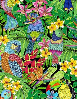 Tropical Flair Parrots