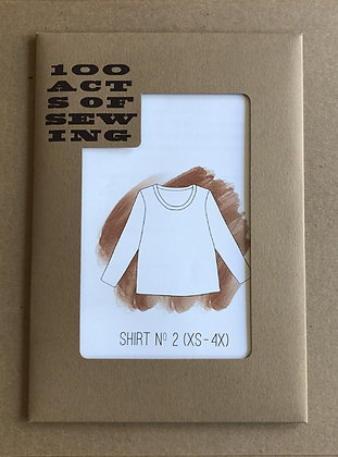 100 Acts of Sewing Shirt No. 2