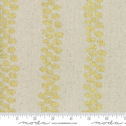 Chill Mochi Linen Gold Stripe