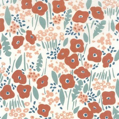 Kokyka Summer Garden Cotton Poplin