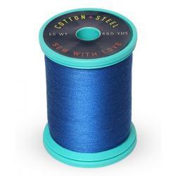 Cotton and Steel Thread 1253 Dark Saphire