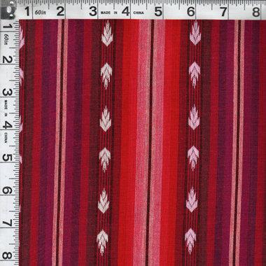 Flame Fuchsia Arrowhead Woven