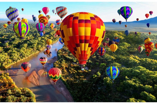 Up and Away Balloons/Panel