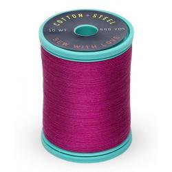 Cotton and Steel Thread 1191 Dark Rose