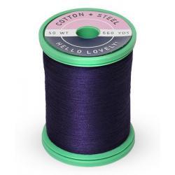 Cotton and Steel Thread 1197 Medium Navy