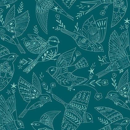 Aviary Bird Sketch
