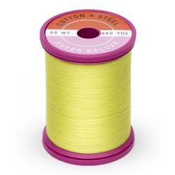 Cotton and Steel Thread 1901 Neon Yellow