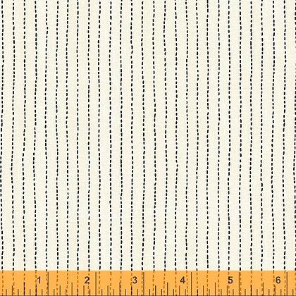 Stitched Stripe Ivory