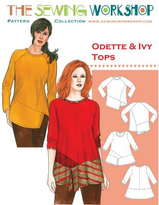 Odette and Ivy Tops