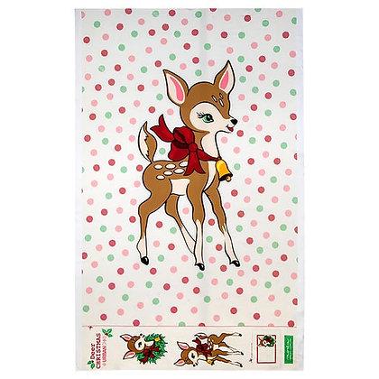 Moda Deer Christmas Digital Pannel