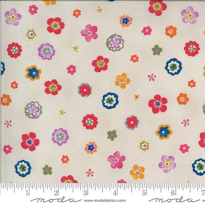 Lulu Flowers Linen