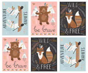 Wild and Free Panel SALE