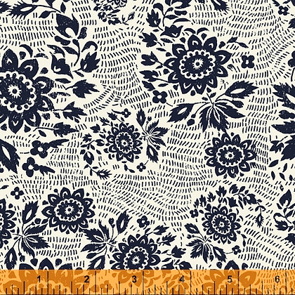 Floral Stitch Ivory