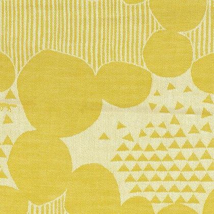 Echino Ekxa Jacquard Yellow Dots