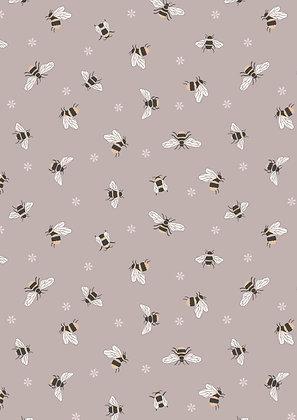 Queen Bee- Bees on Warm Beige