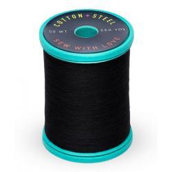 Cotton and Steel Thread 1005 Black