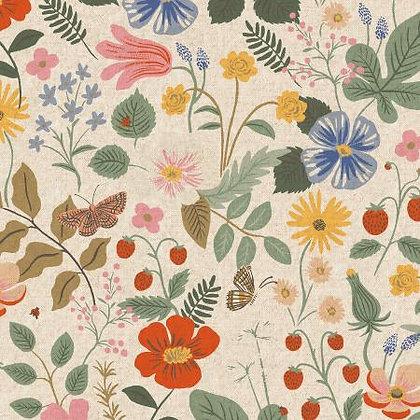 Strawberry Fields Linen Canvas
