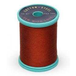 Cotton and Steel Thread 1181 Rust