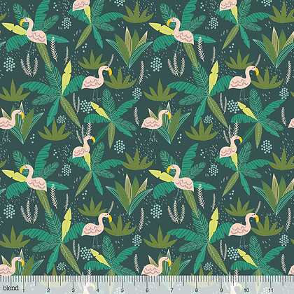Jungle Flamingo by Blend Fabrics SALE