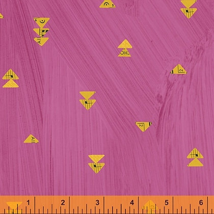 Floating Triangle Pink