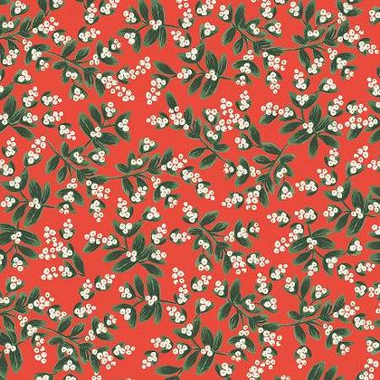 Holiday Classics Mistletoe Red Metallic