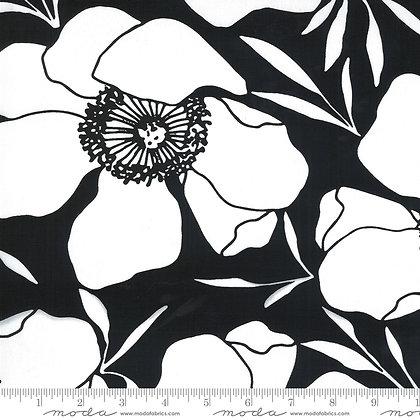 Illustrations Large Floral Canvas Ink