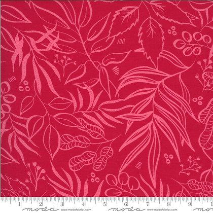 Moody Bloom Fuchsia Floral Knit