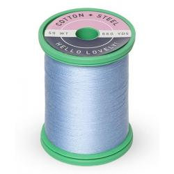 Cotton and Steel Thread 1292 Heron Blue