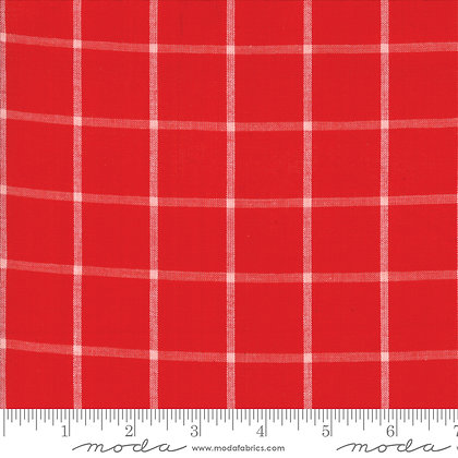 Bonnie and Camille Windowpane/Red
