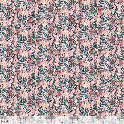 Floral Pets collection by Blend Fabrics Pink