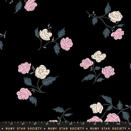 Roses/Black