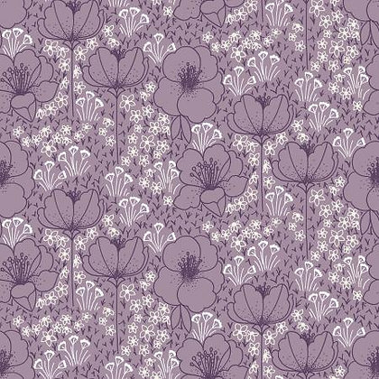 Cotton+ Steel Dusty Lilac Rayon