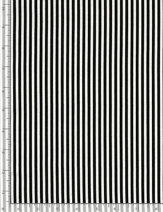 """1/8"""" stripe black and white"""