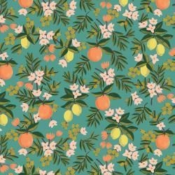 Primavera Citrus Floral Teal