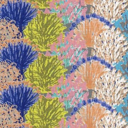 Kokyka Fans Cotton/Linen Poplin