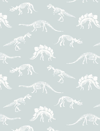 Fossils on Sky Blue