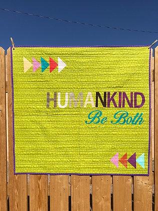 Kindness Quilt KIT Green Diversity
