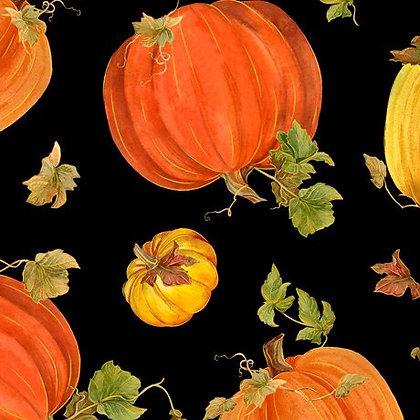 Fall Splendor Tossed Pumpkins