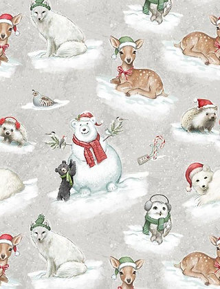 Woodland Friends Snow Critters